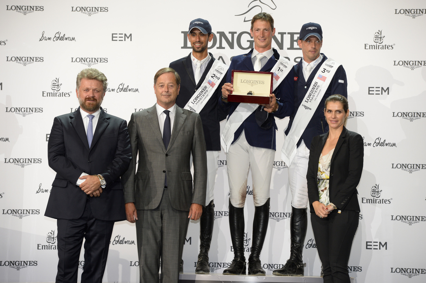 Longines Show Jumping Event: World-class sport, emotions and refinement at the Longines Masters of Los Angeles 1