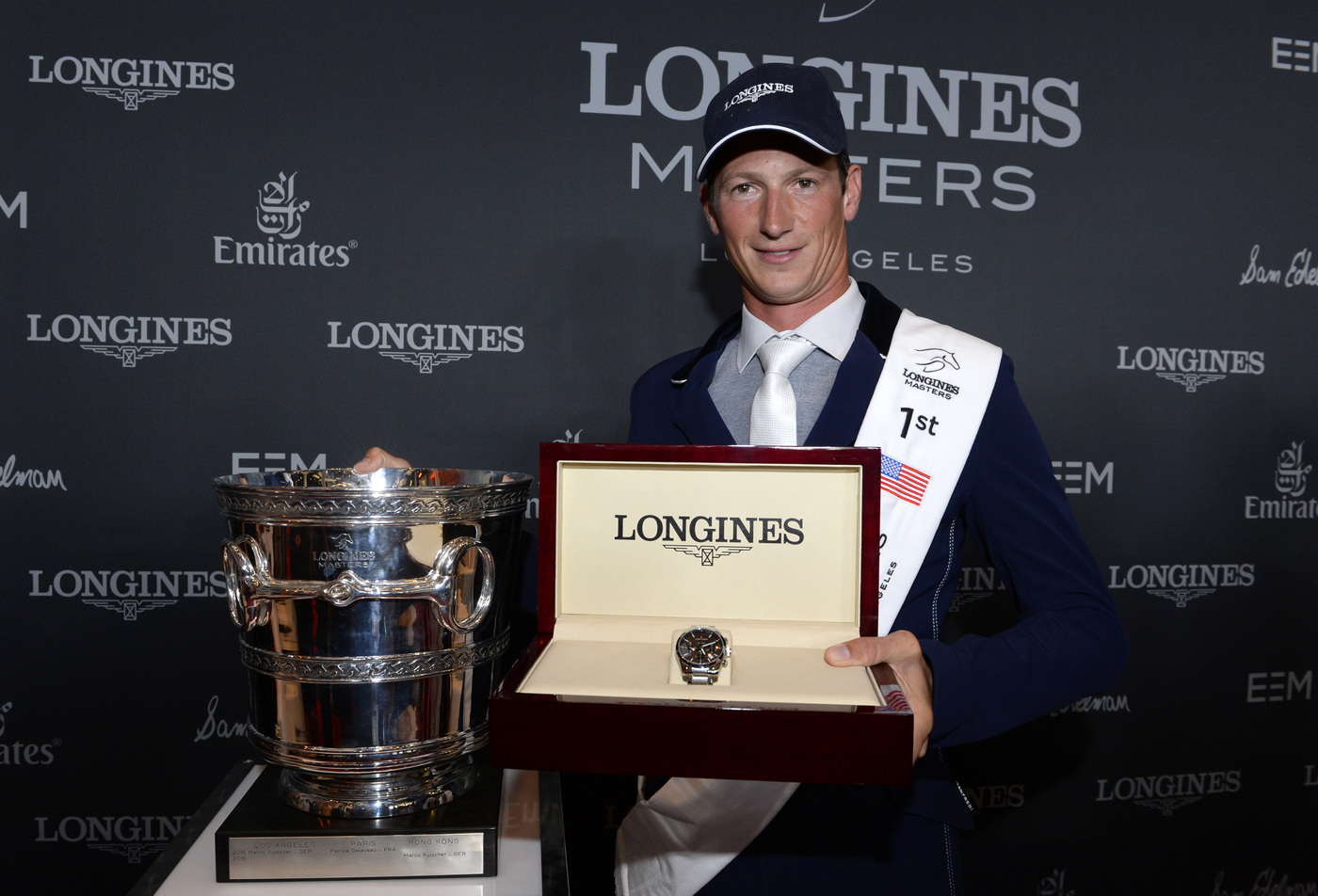 Longines Show Jumping Event: World-class sport, emotions and refinement at the Longines Masters of Los Angeles 2