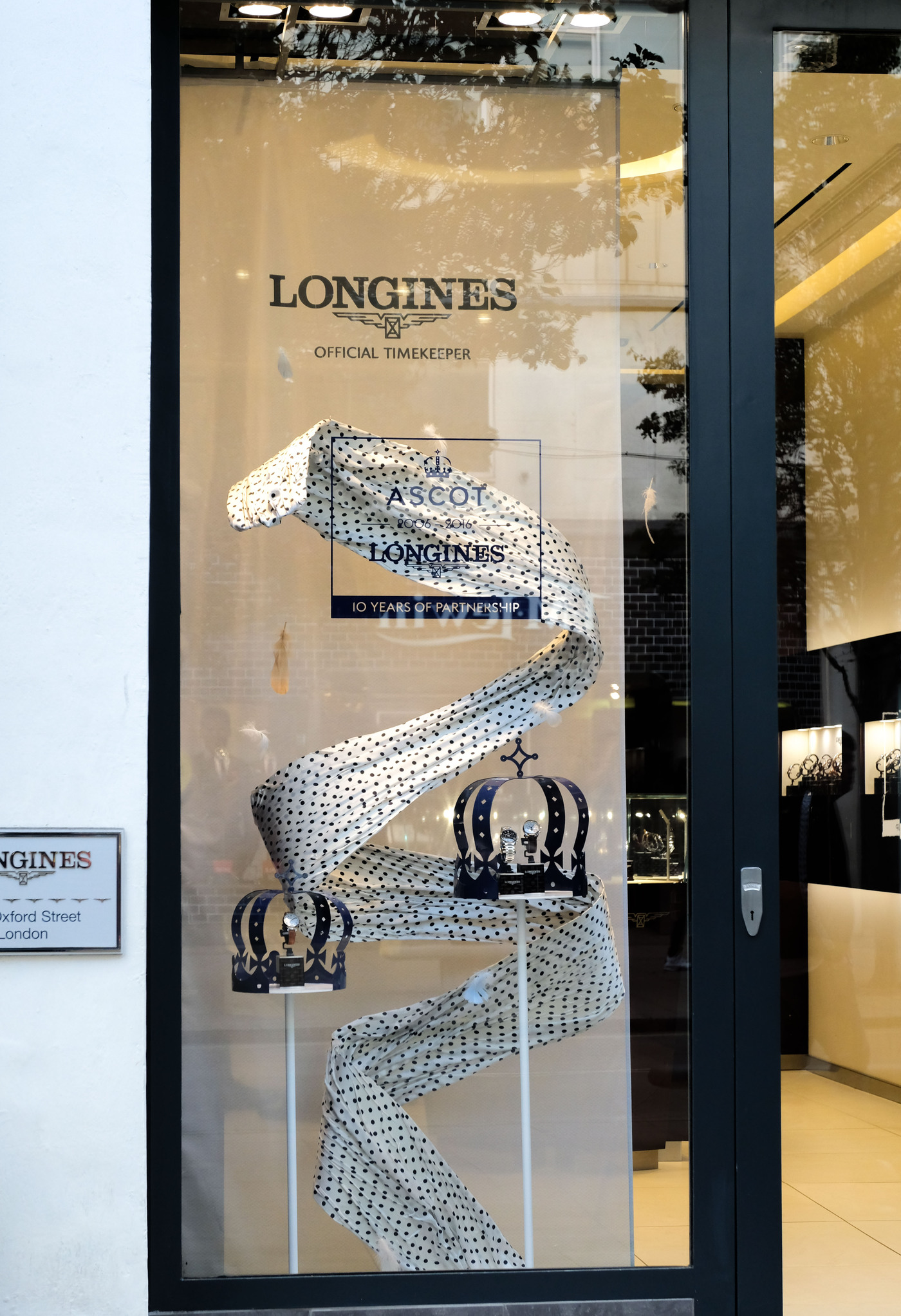Longines Flat Racing Event: Longines celebrates its 10-year partnership with Ascot  in its London boutique 3