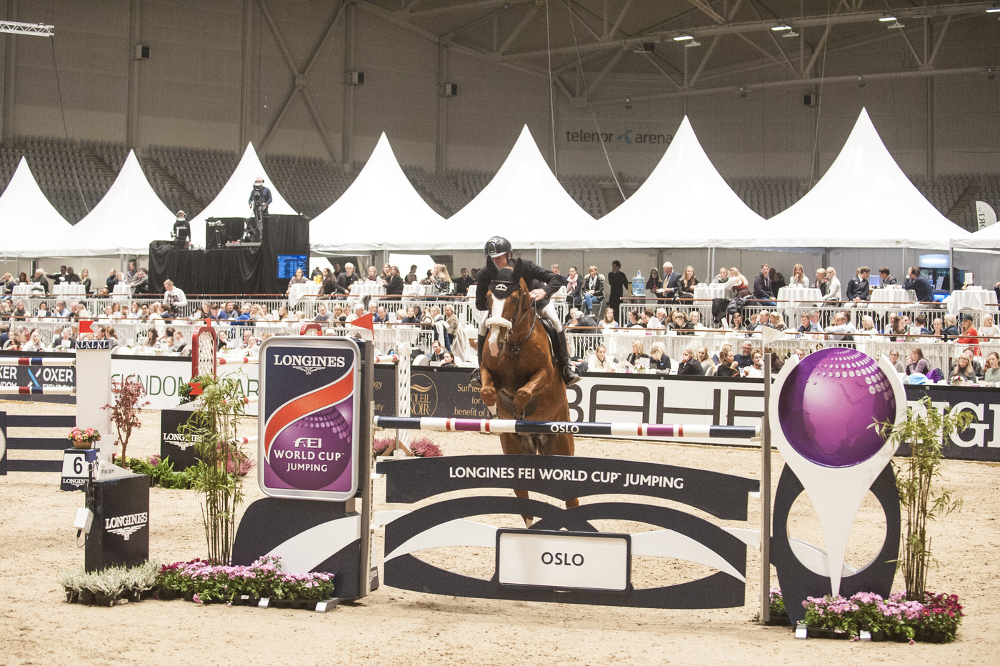 Longines Show Jumping Event: The CSI 5* - W La Coruña joins the Longines FEI World Cup™ Jumping series, which opened with the victory of Alberto Zorzi and Fair Light van T Heike in Oslo 3