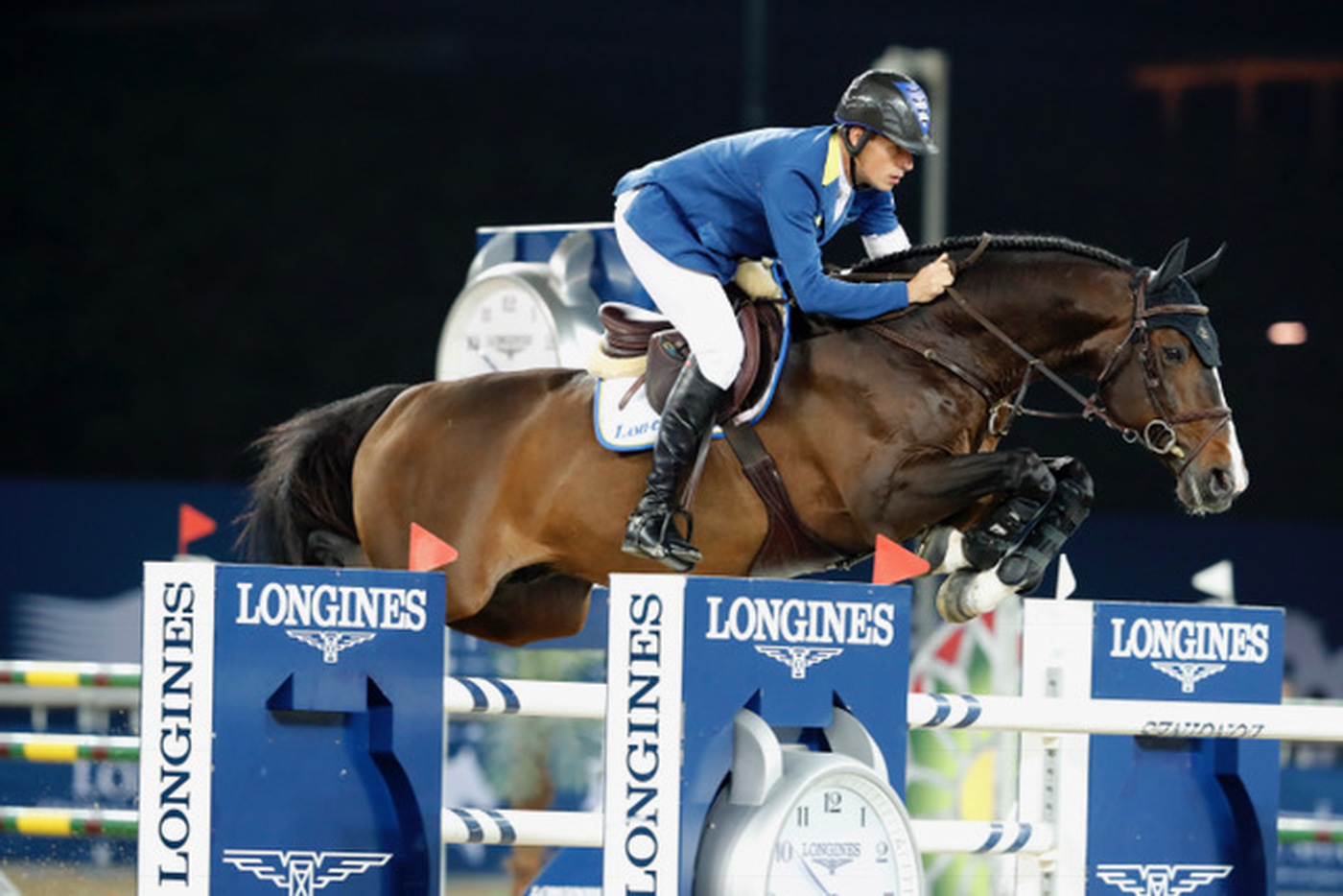 Longines Show Jumping Event: Rolf-Göran Bengtsson won the Longines Global Champions Tour 2016 after a final full of suspense in Doha 4