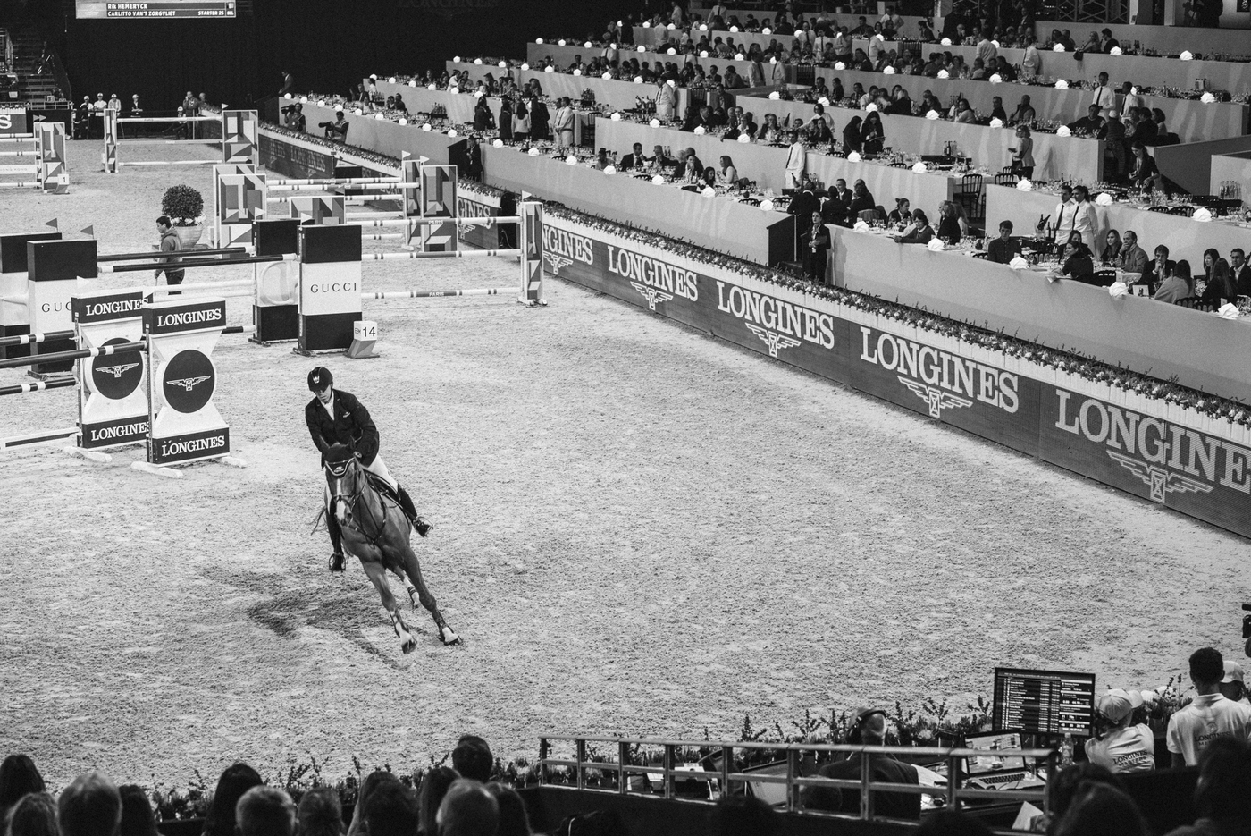 Longines Show Jumping Event: Longines is looking forward to seeing the top international riders competing in the glamorous atmosphere of the Longines Masters of Paris 4