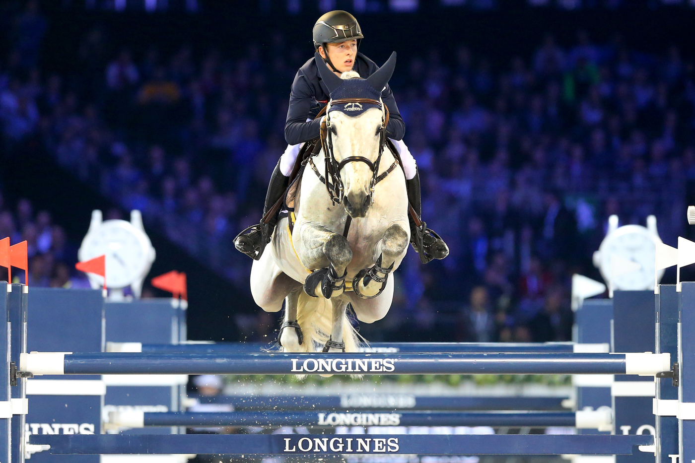 Longines Show Jumping Event: Gregory Wathelet, champion of the Longines Masters of Paris 4