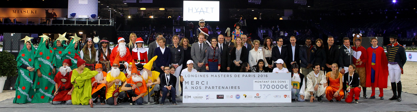 Longines Show Jumping Event: Gregory Wathelet, champion of the Longines Masters of Paris 6