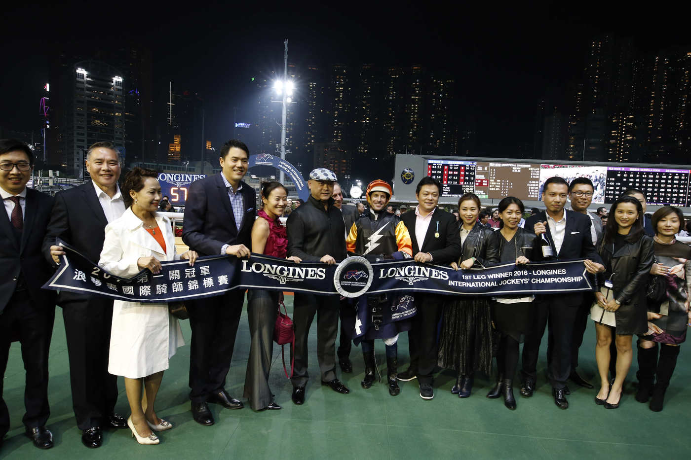 Longines Flat Racing Event: An electric atmosphere for the Longines International Jockeys' Championship 2016 9
