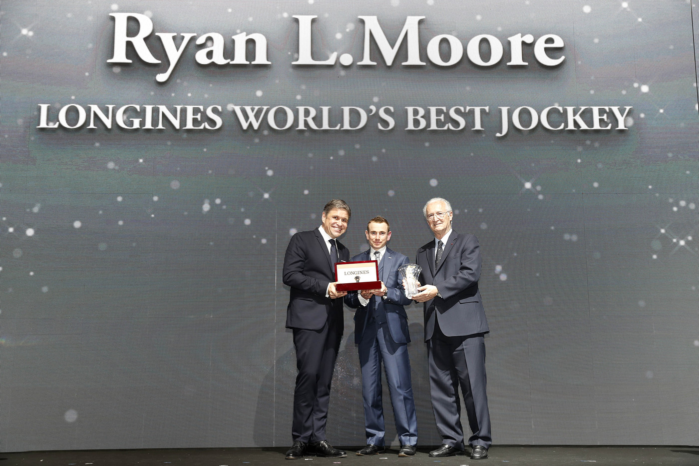 "Longines Flat Racing Event: Ryan Moore crowned ""Longines World's Best Jockey"" for the second time  2"