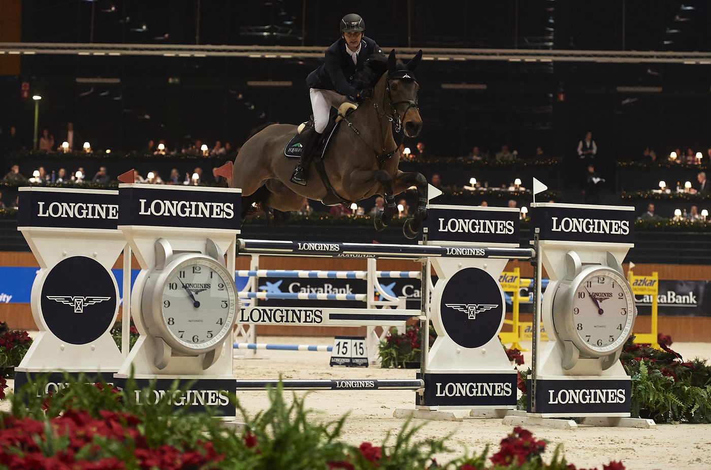 Longines Show Jumping Event: Carlos Enrique Lopez Lizarazo and Admara 2 galloped to victory at the Longines FEI World Cup™ Jumping in La Coruña  4