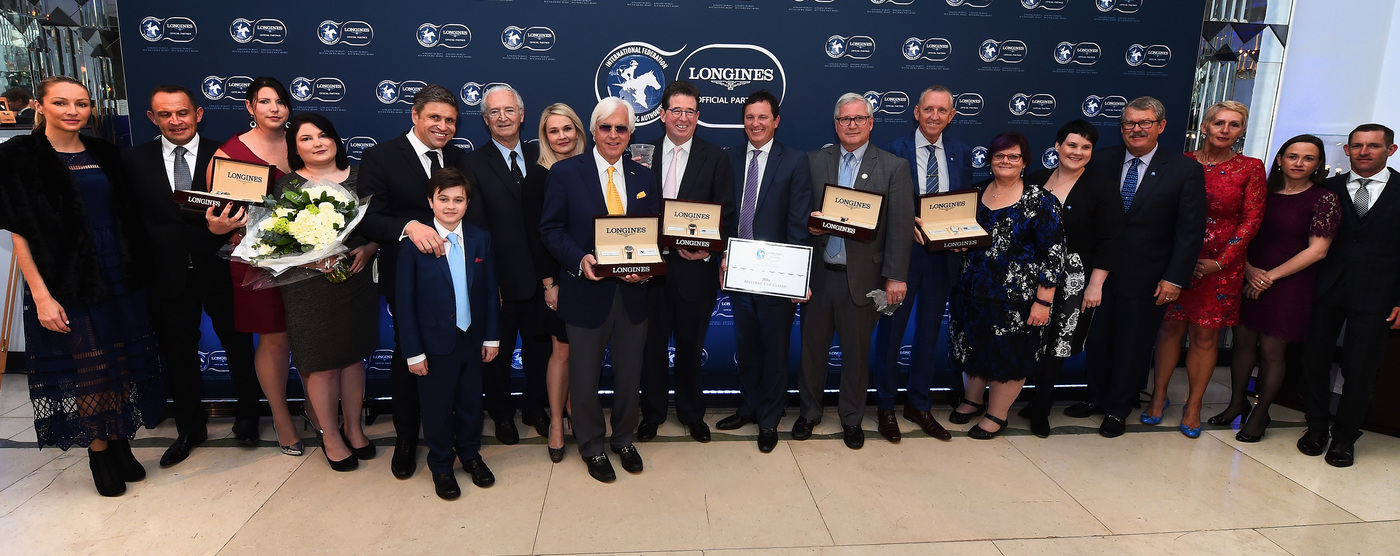 Longines Equestrian Event: Arrogate named the 2016 Longines World's Best Racehorse, while the Breeders' Cup Classic was crowned 2016 Longines World's Best Horse Race 5