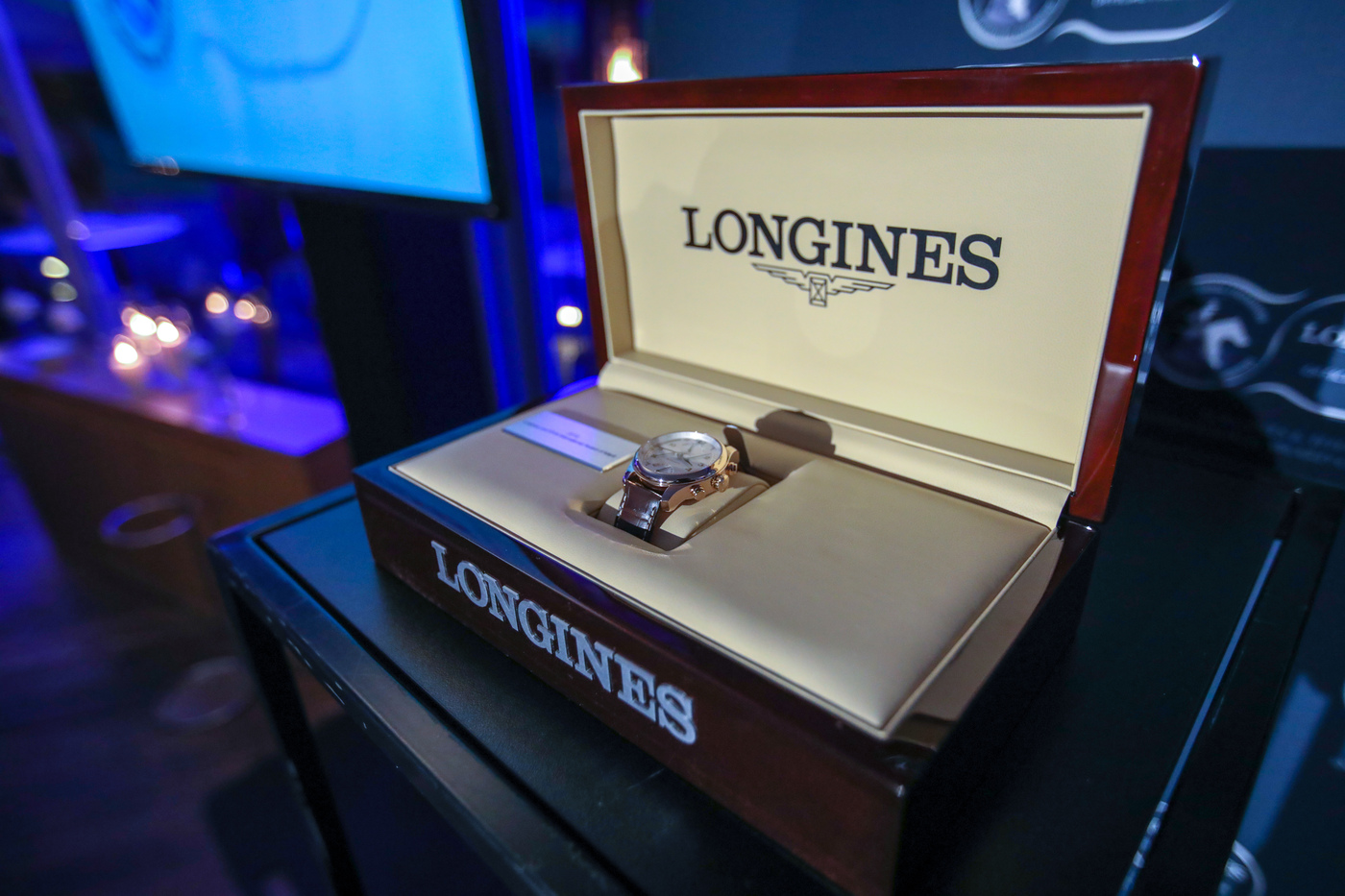 Longines Flat Racing Event: John Messara Receives the 2019 Longines and IFHA International Award of Merit 2