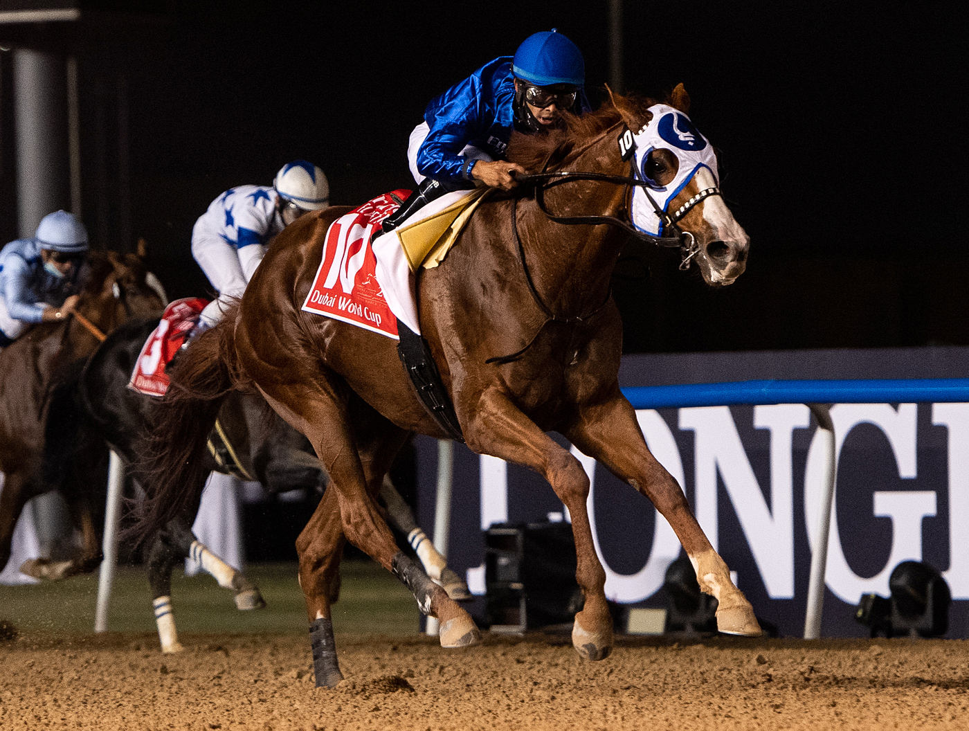 Longines Flat Racing Event: Longines times the victory of Mystic Guide in the 25th Dubai World Cup 3