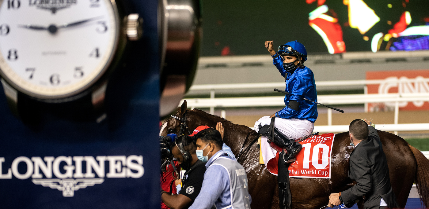 Longines Flat Racing Event: Longines times the victory of Mystic Guide in the 25th Dubai World Cup 5