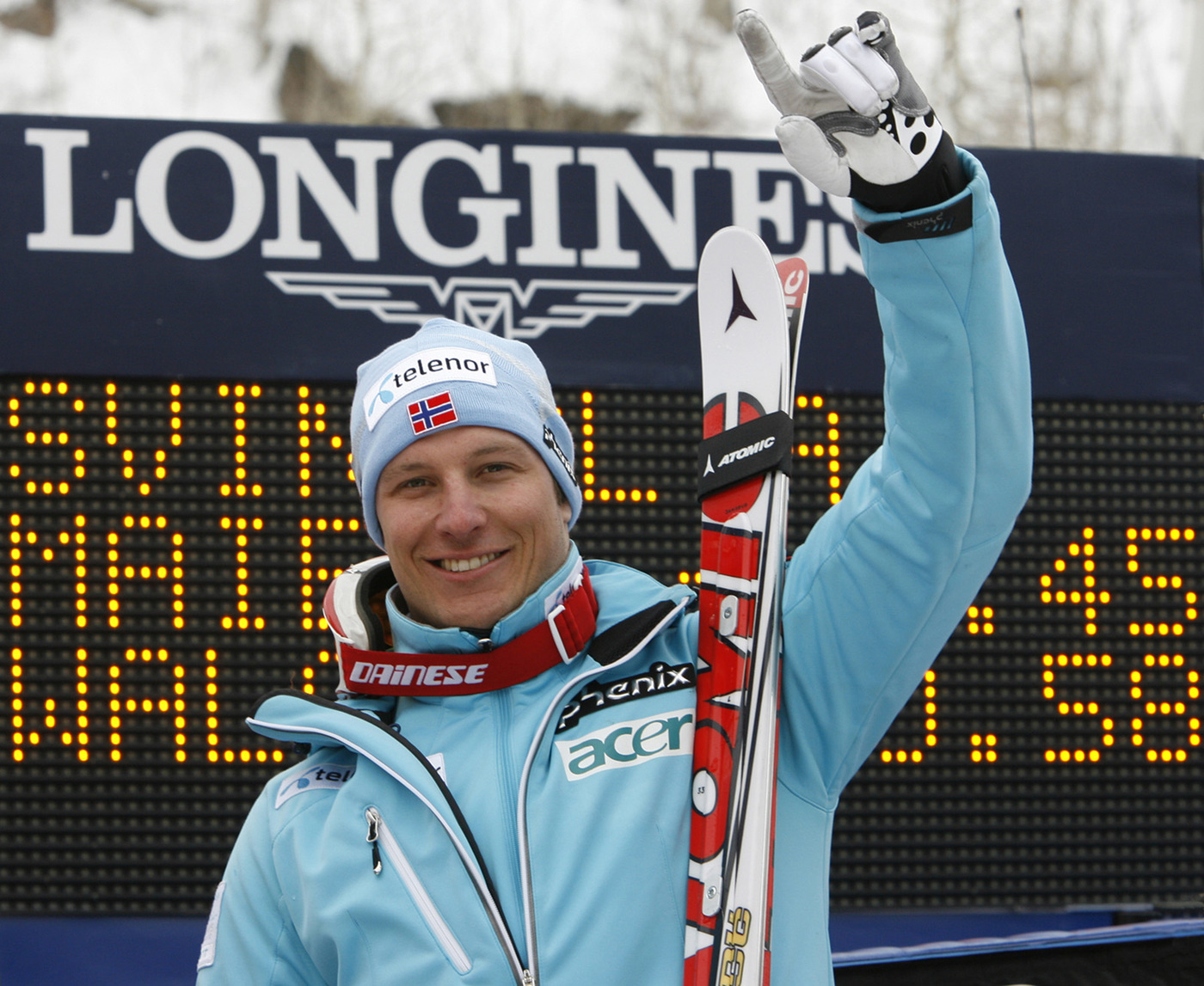 Longines Alpine Skiing Event: The Longines adventure continues with the brand's appointment as official timekeeper for the 2009 FIS Alpine Skiing World Championships 1