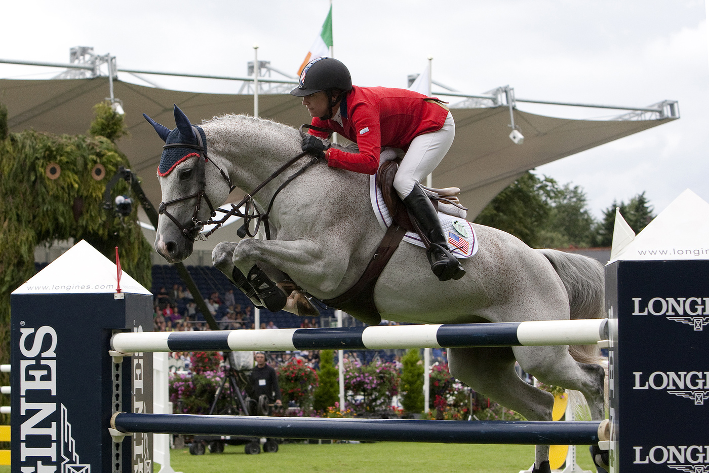 Longines Show Jumping Event: CSIO Dublin - The winners of the Longines Press Award for Elegance 7
