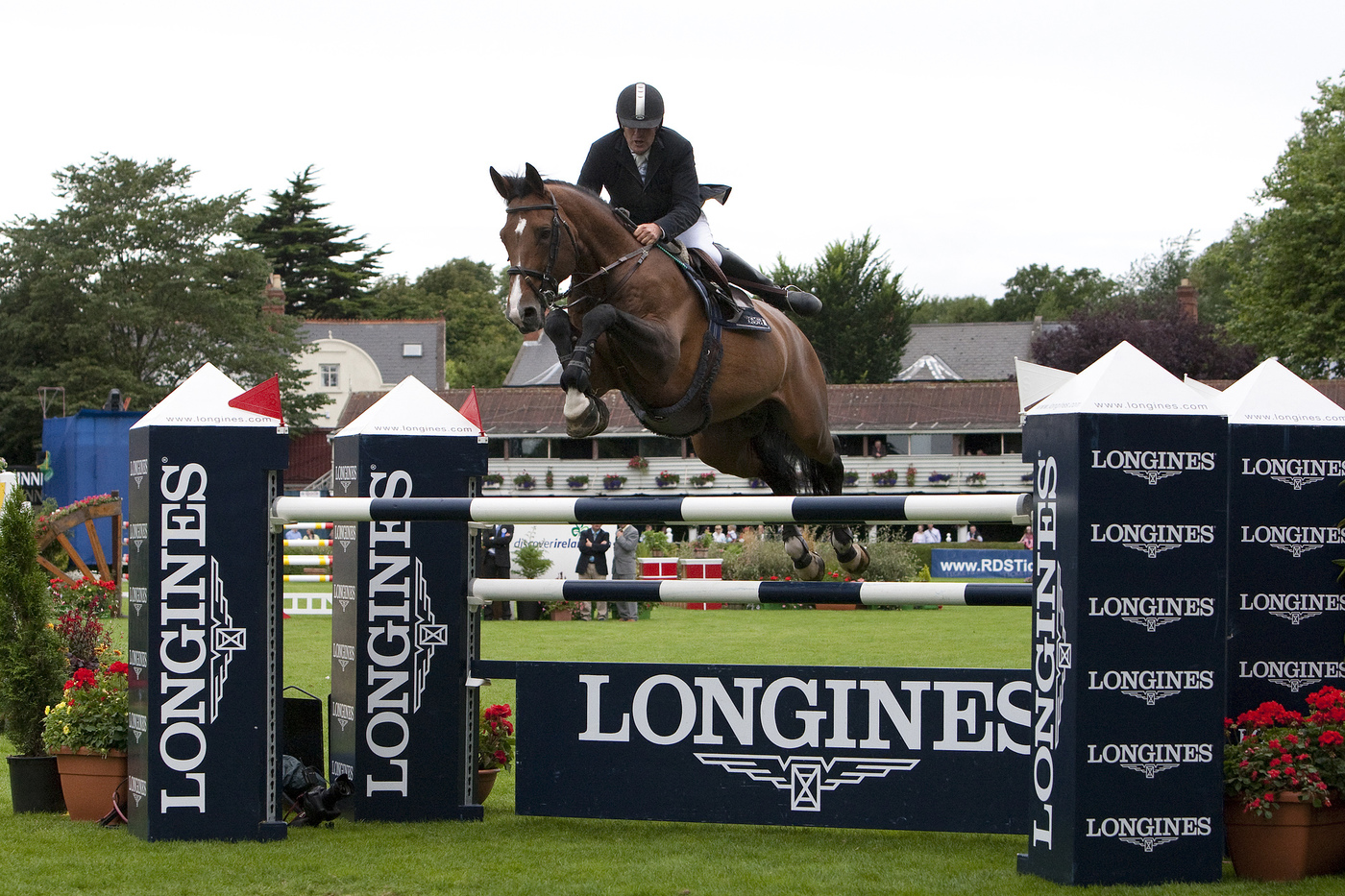 Longines Show Jumping Event: CSIO Dublin - The winners of the Longines Press Award for Elegance 8