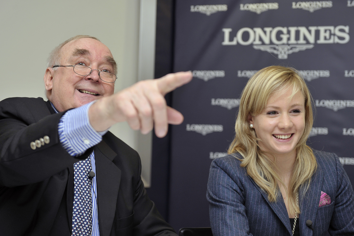 Longines Gymnastics Event: Ariella Kaeslin visits Longines headquarters 2