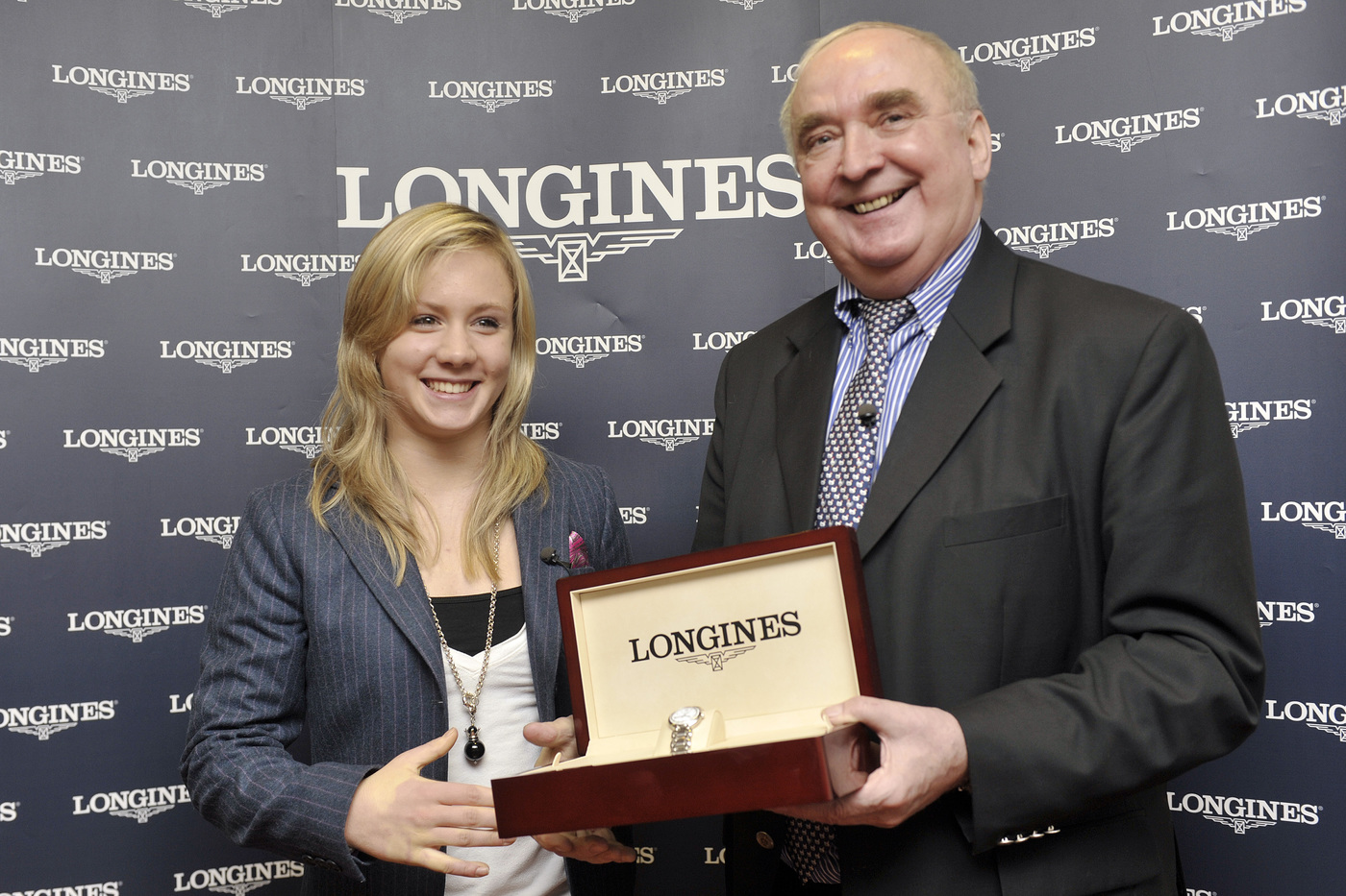 Longines Gymnastics Event: Ariella Kaeslin visits Longines headquarters 7