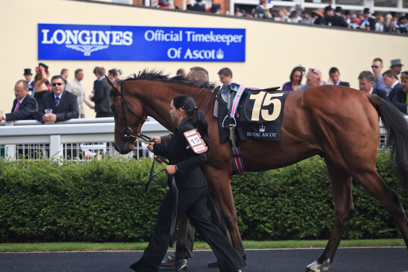 Longines Flat Racing Event: The Asian star Chi Ling Lin discovers the prestigious glamour of Royal Ascot 6