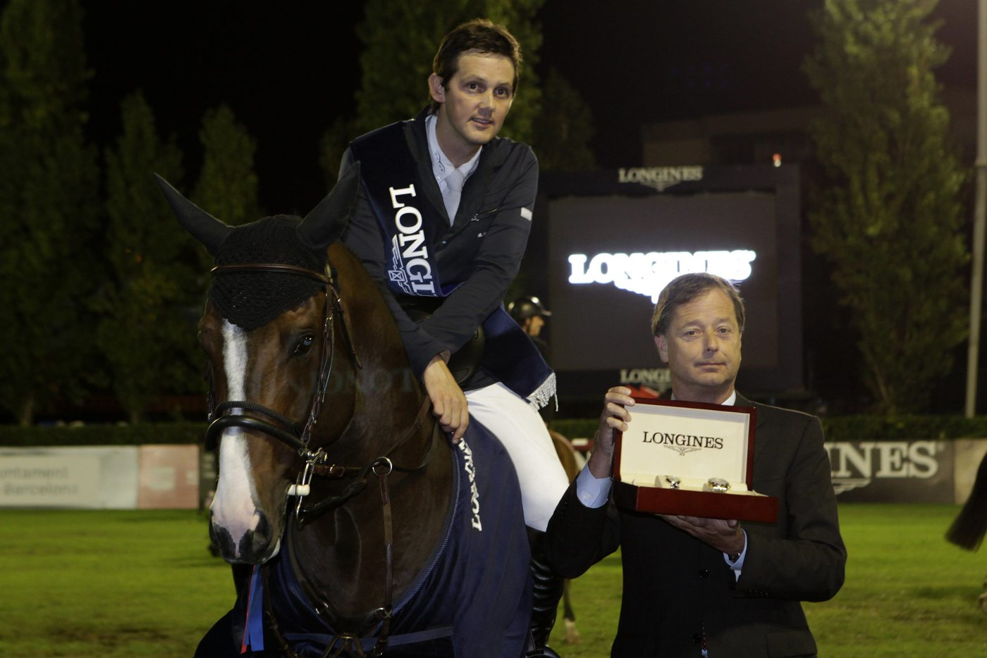 Longines Show Jumping Event: Billy Twomey, wins the Longines Grand Prix of the CSIO Barcelona 2010 2