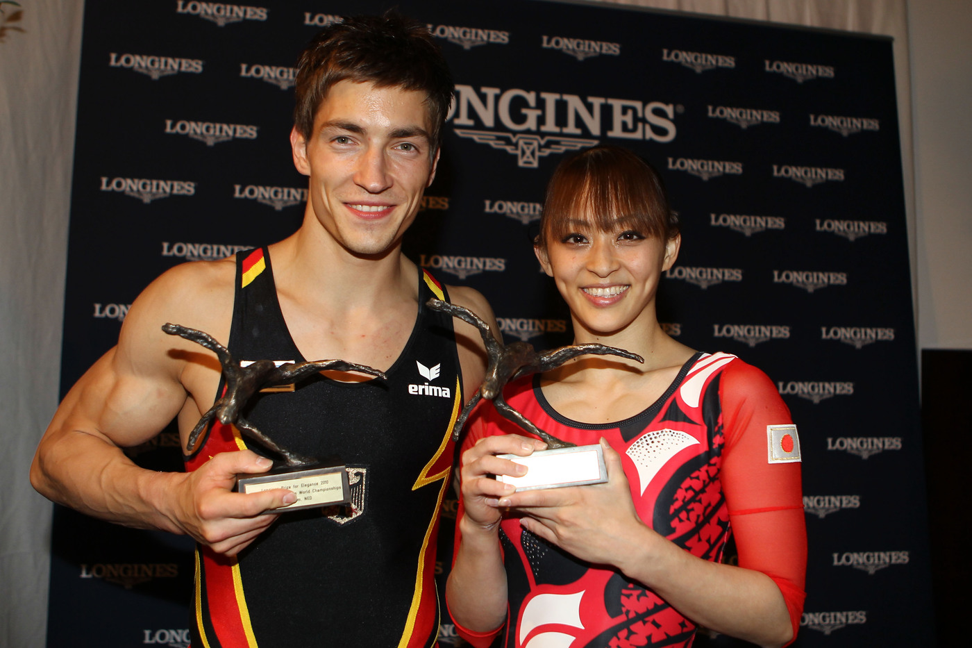 Longines Gymnastics Event: Rie Tanaka and Philipp Boy win the Longines Prize for Elegance 2010 in Rotterdam 5