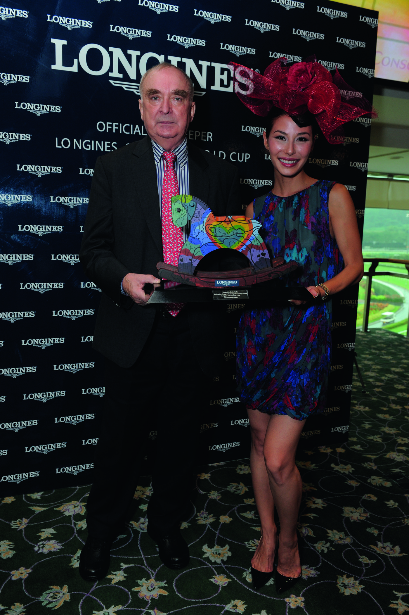 Longines Flat Racing Event: Longines embarks on landmark partnership with the Singapore Turf Club and launches the Longines Singapore Gold Cup 2