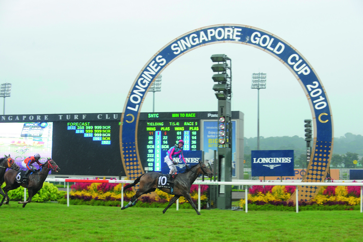Longines Flat Racing Event: Longines embarks on landmark partnership with the Singapore Turf Club and launches the Longines Singapore Gold Cup 5