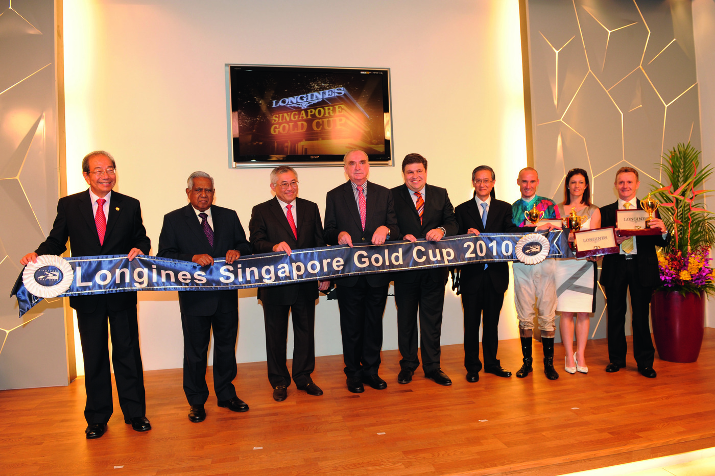 Longines Flat Racing Event: Longines embarks on landmark partnership with the Singapore Turf Club and launches the Longines Singapore Gold Cup 7
