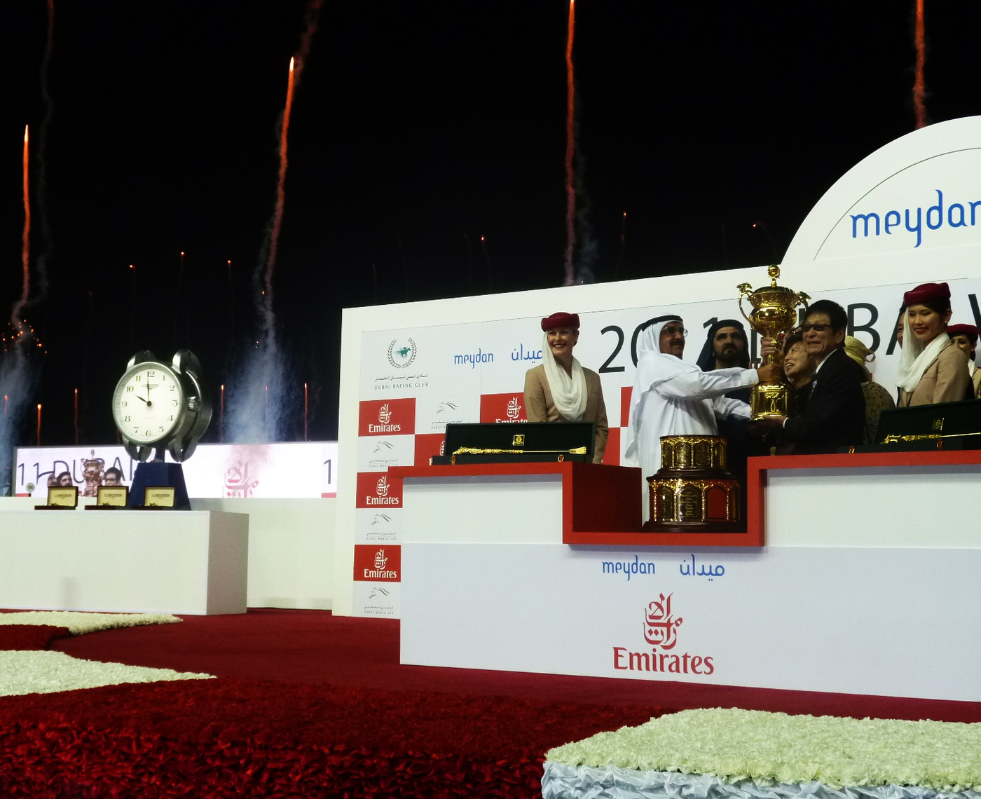 Longines Flat Racing Event: Elegance met performance at the Dubai World Cup 2011 2