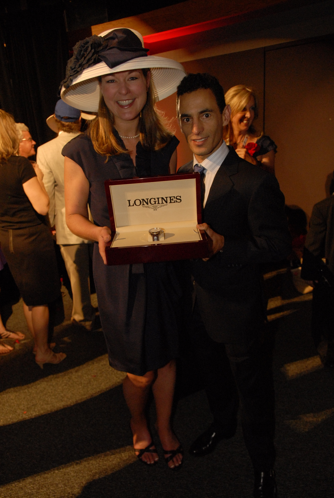 Longines Flat Racing Event: LONGINES WATCHES PRESENTED TO OWNER, TRAINER AND JOCKEY OF KENTUCKY DERBY WINNER 7