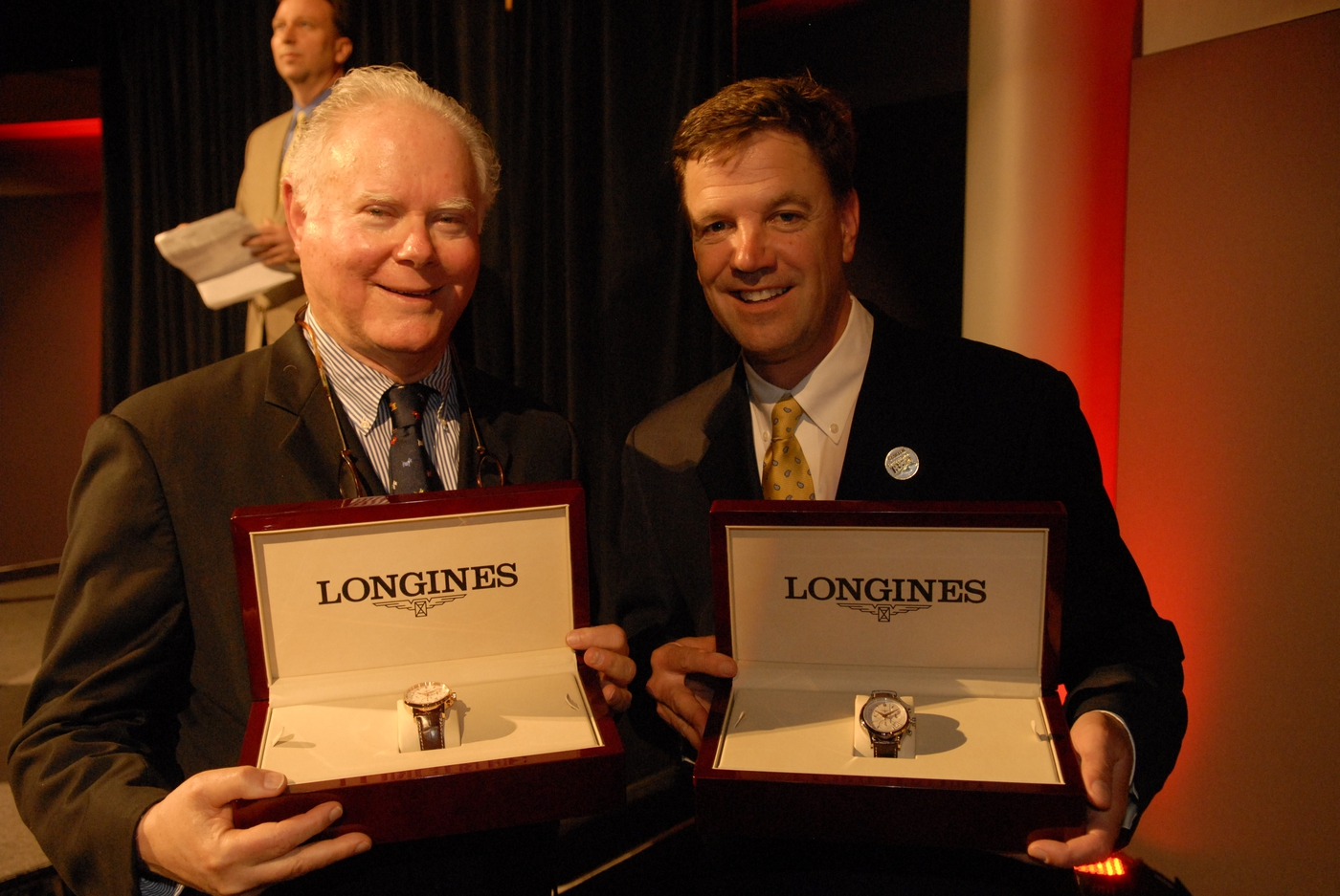 Longines Flat Racing Event: LONGINES WATCHES PRESENTED TO OWNER, TRAINER AND JOCKEY OF KENTUCKY DERBY WINNER 8