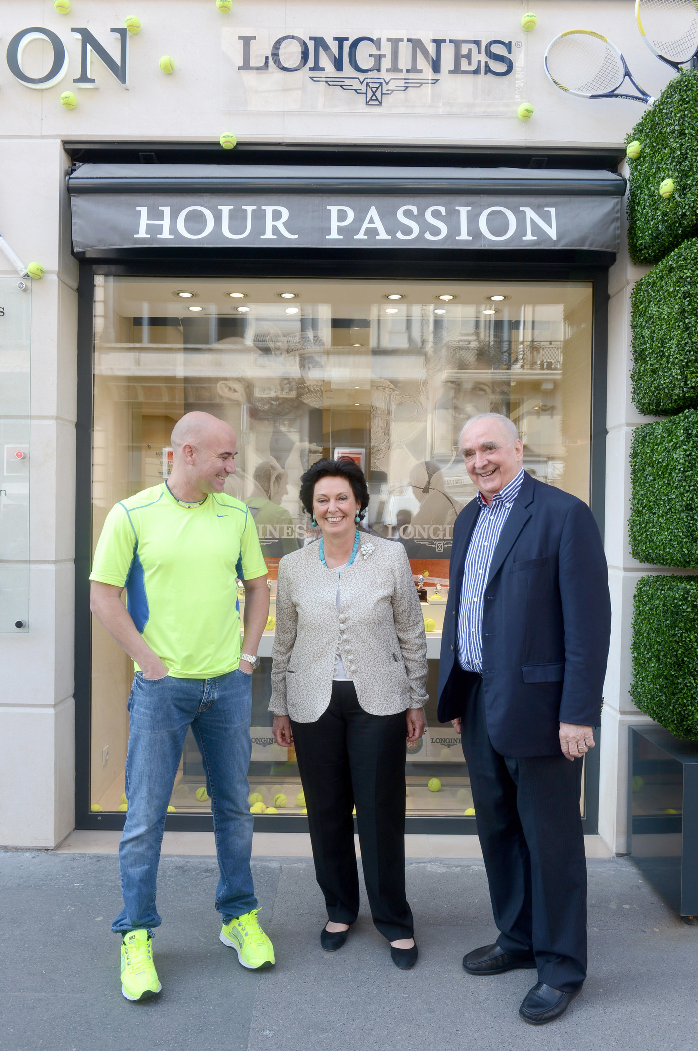 Longines Corporate Event: Longines Ambassador of Elegance Andre Agassi in Paris this weekend 7