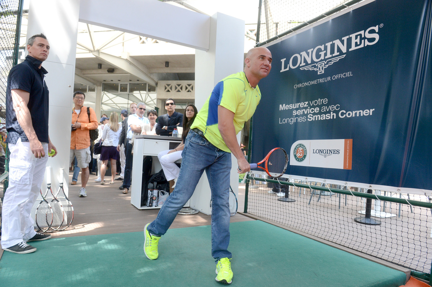 Longines Corporate Event: Longines Ambassador of Elegance Andre Agassi in Paris this weekend 4