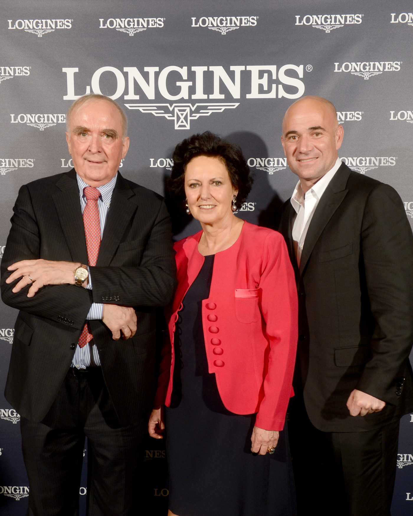 Longines Corporate Event: Longines Ambassador of Elegance Andre Agassi in Paris this weekend 3