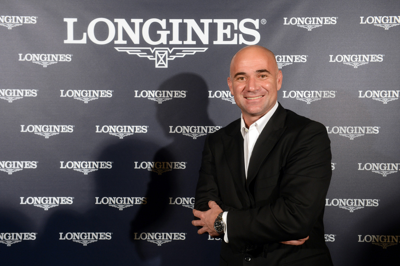 Longines Corporate Event: Longines Ambassador of Elegance Andre Agassi in Paris this weekend 1