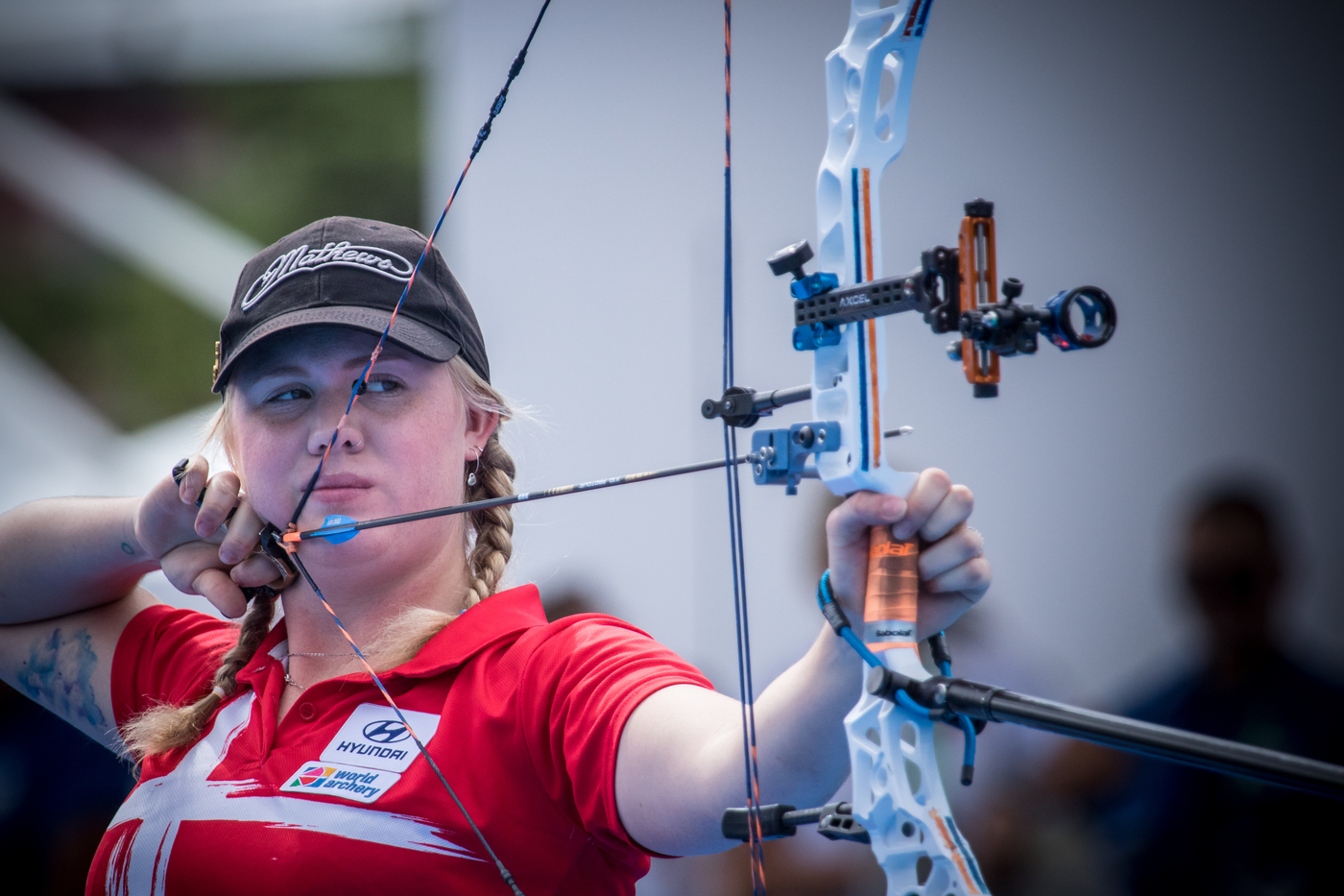 Longines Archery Event: Stephan Hansen and Sarah Sonnichsen claim the Longines Prize for Precision at the Archery World Cup Final in Rome 3
