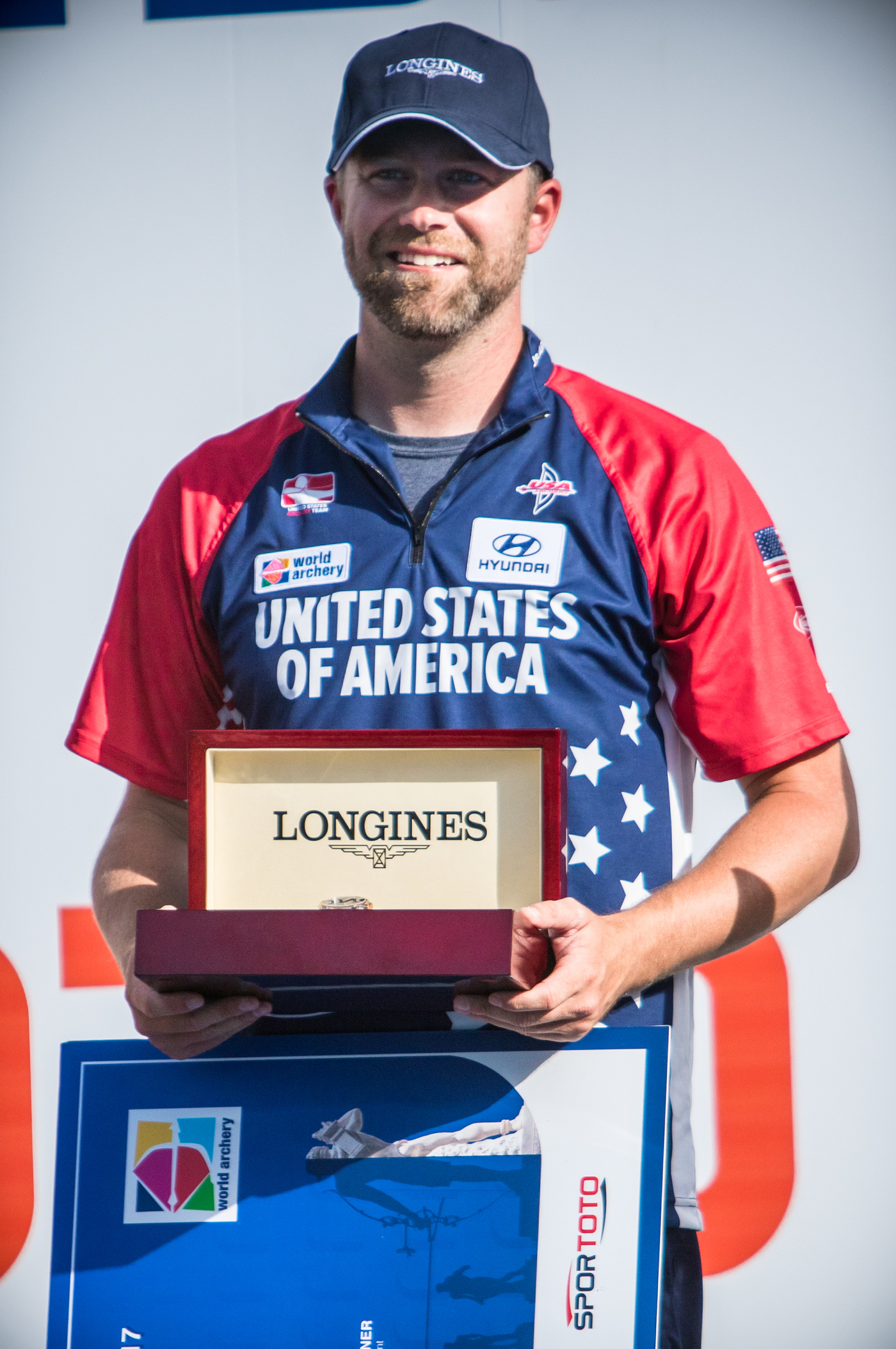 Longines Archery Event: Stephan Hansen and Sarah Sonnichsen claim the Longines Prize for Precision at the Archery World Cup Final in Rome 2