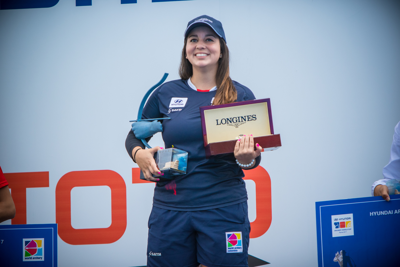 Longines Archery Event: Stephan Hansen and Sarah Sonnichsen claim the Longines Prize for Precision at the Archery World Cup Final in Rome 1