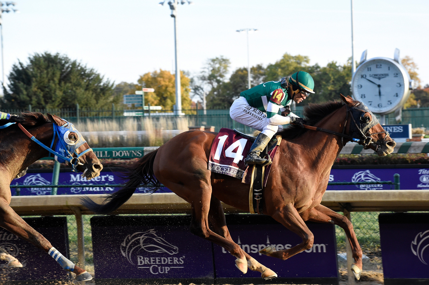 Longines Flat Racing Event: Longines to extend its partnership with the Breeders' Cup 2