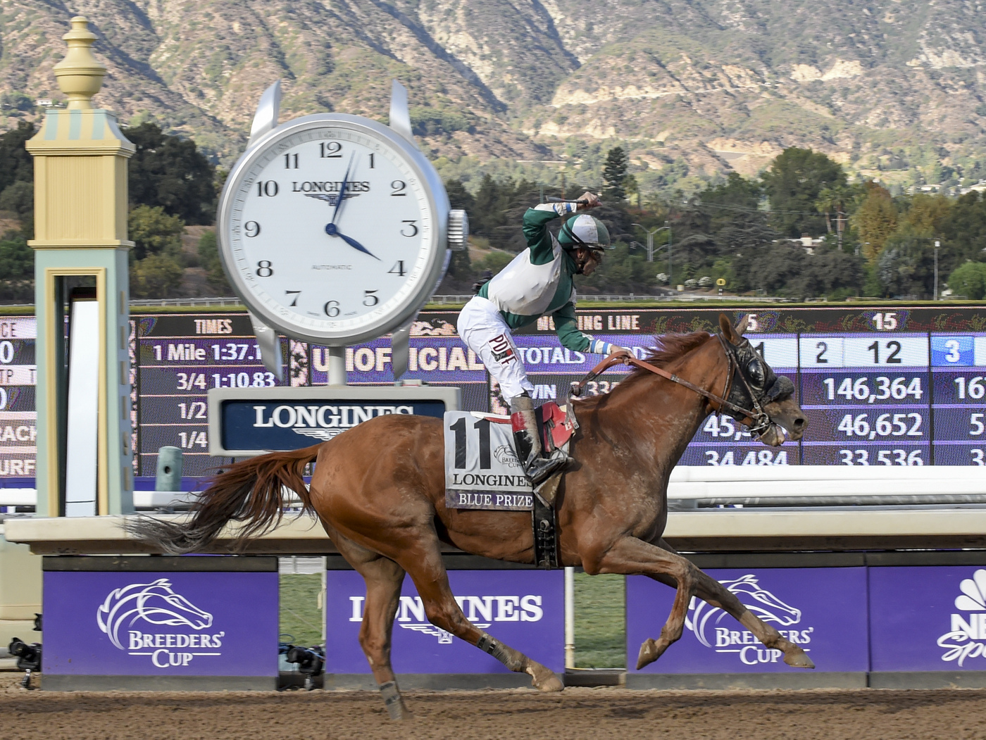 Longines Flat Racing Event: Longines timed the 36th Breeders' Cup World Championships 4