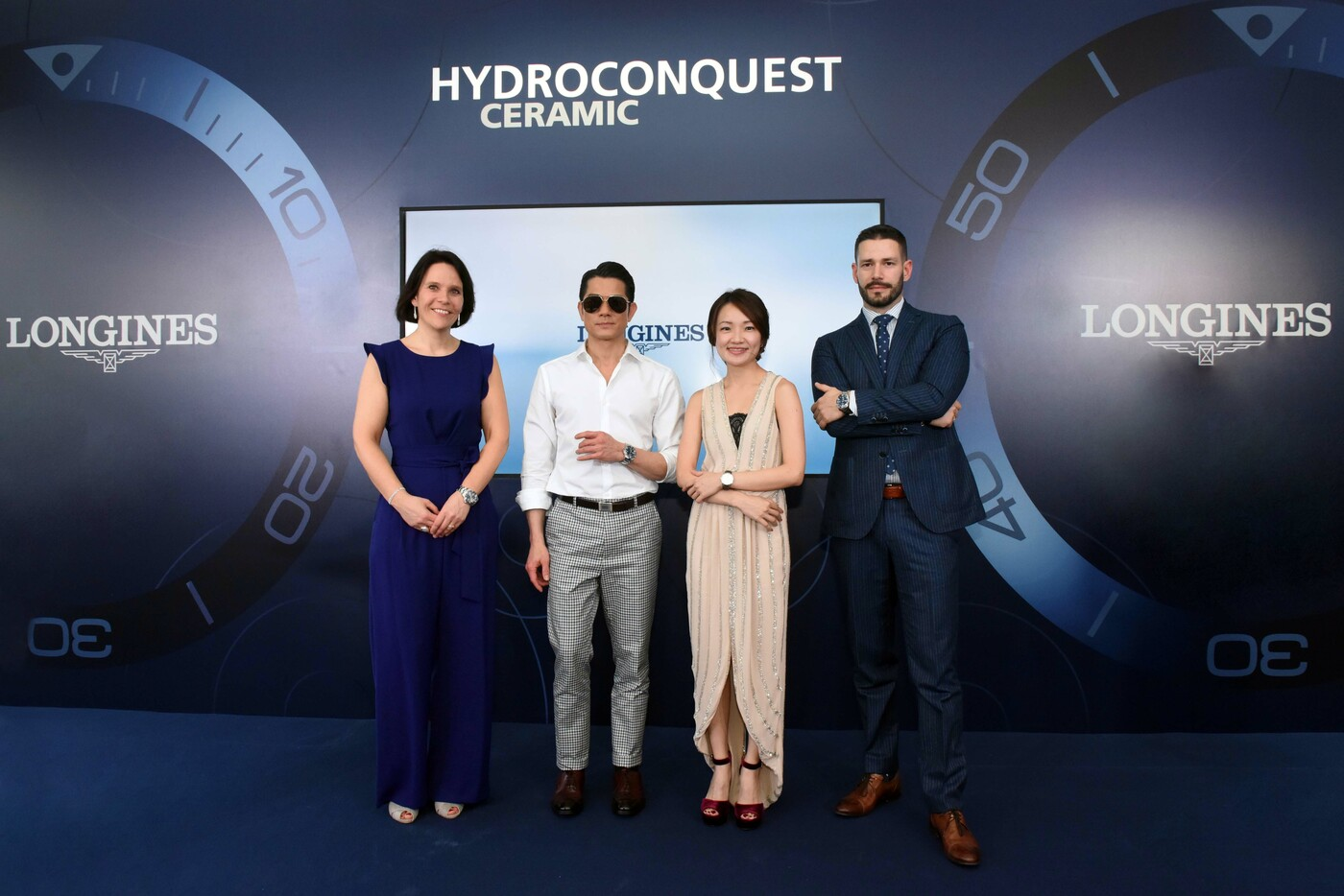 Longines Corporate Event: Longines dives into the HydroConquest universe during a special event in Singapore attended by Aaron Kwok 9