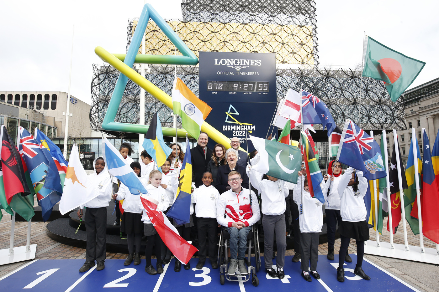 Longines Commonwealth Games Event: Longines and CGF agree historic multi-Commonwealth Games partnership, as Birmingham 2022 Countdown Clock is revealed 1