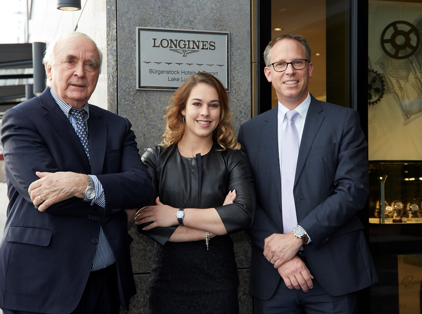 Longines Corporate Event: Longines officially inaugurates its first Corporate Boutique in Switzerland in presence of Giulia Steingruber, Ambassador of Elegance 1