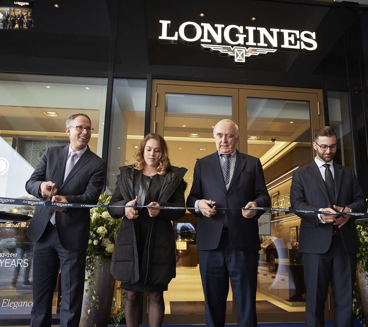 Longines Corporate Event: Longines officially inaugurates its first Corporate Boutique in Switzerland in presence of Giulia Steingruber, Ambassador of Elegance 4