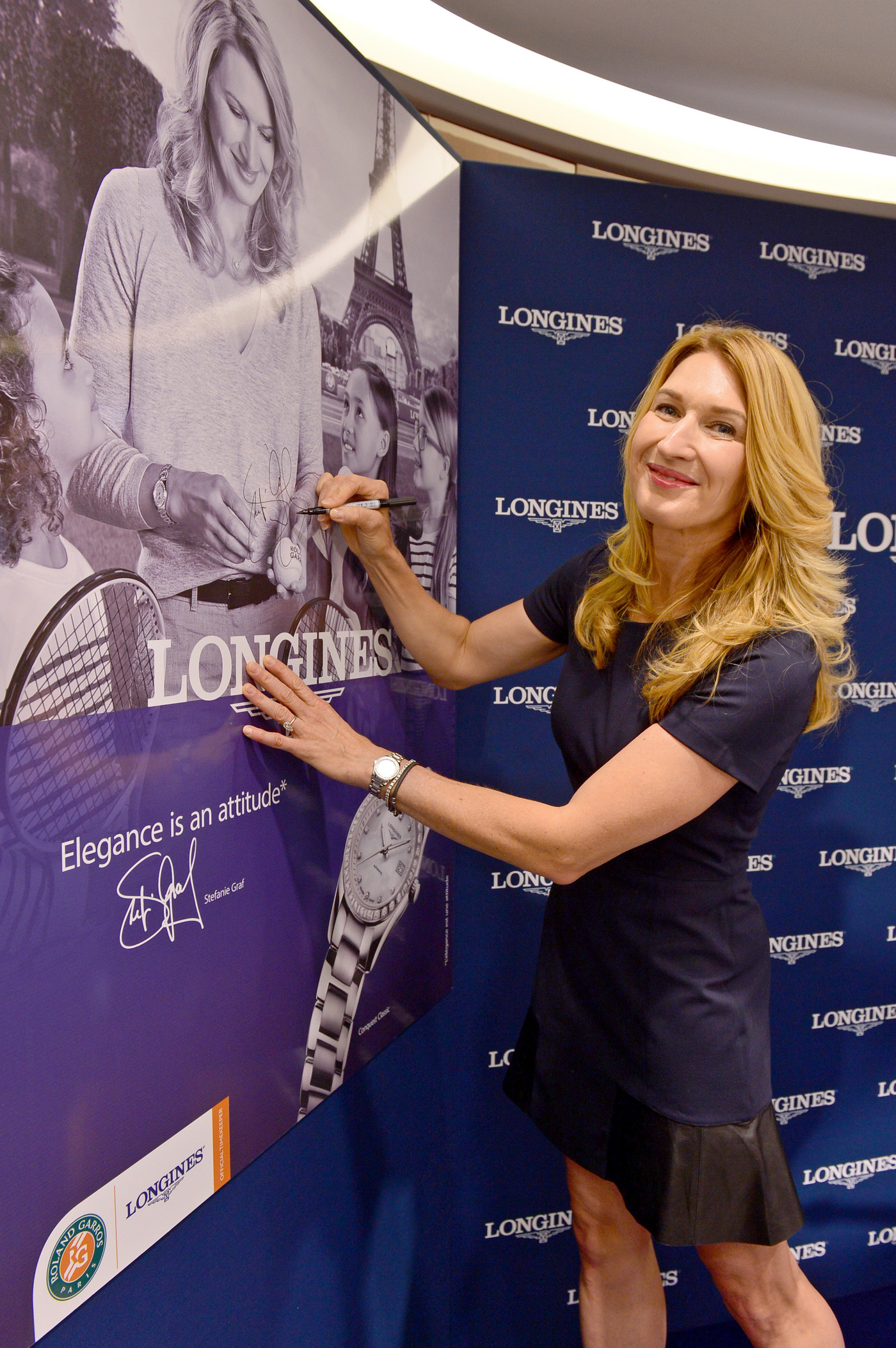 Longines Corporate Event: Longines officially inaugurates its first monobrand boutique in France in presence of Ambassador of Elegance Stefanie Graf 4