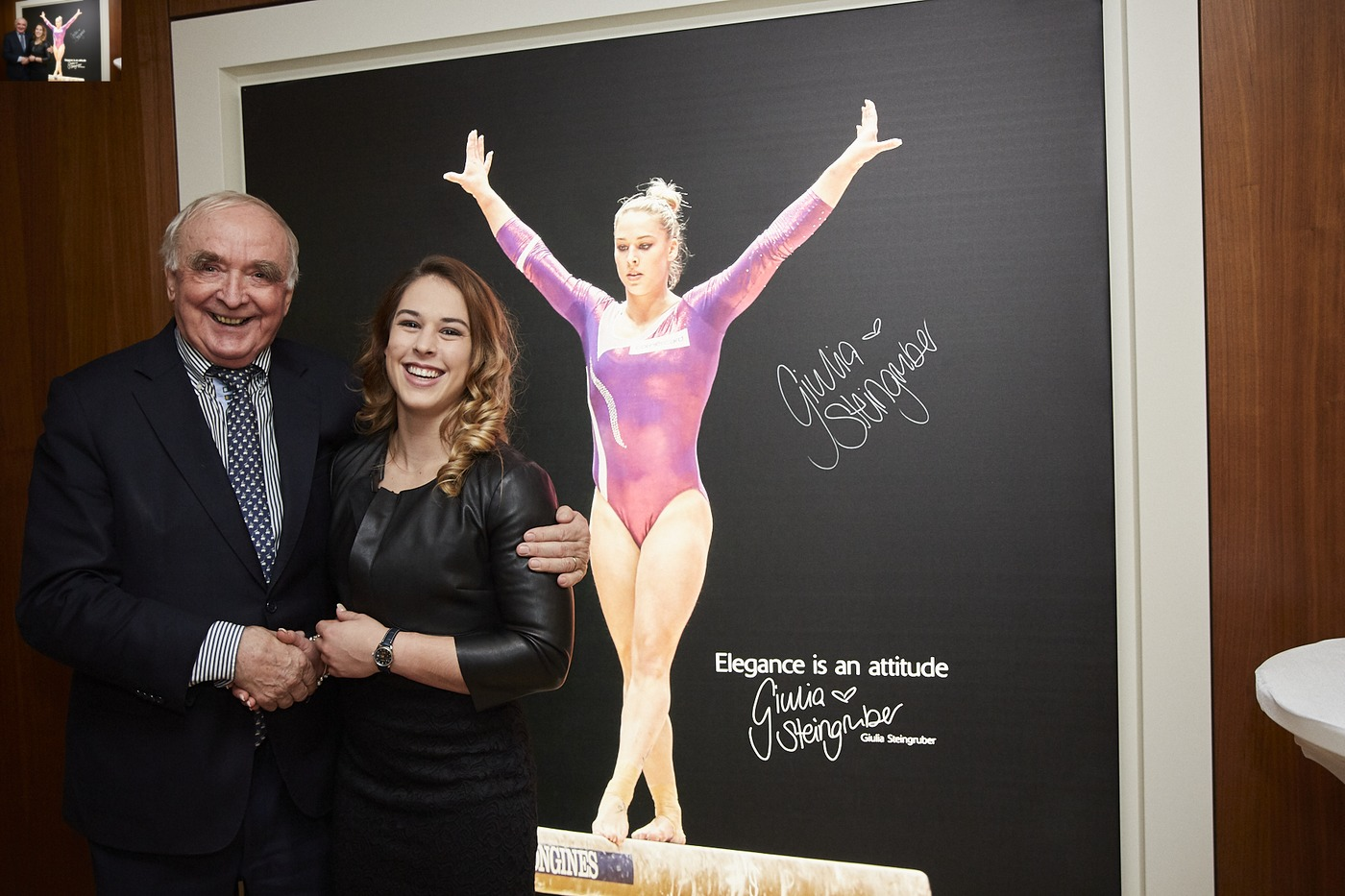 Longines Corporate Event: Longines officially inaugurates its first Corporate Boutique in Switzerland in presence of Giulia Steingruber, Ambassador of Elegance 5