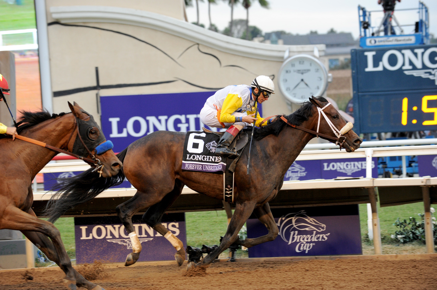 Longines Flat Racing Event: Swiss Watch Brand Longines Times 2017 Breeders' Cup World Championships at Del Mar 6