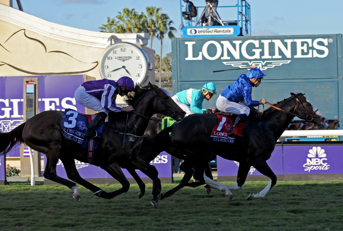 Longines Flat Racing Event: Swiss Watch Brand Longines Times 2017 Breeders' Cup World Championships at Del Mar 11