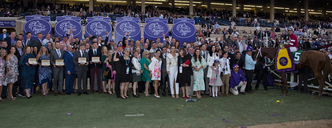 Longines Flat Racing Event: Swiss Watch Brand Longines Times 2017 Breeders' Cup World Championships at Del Mar 7