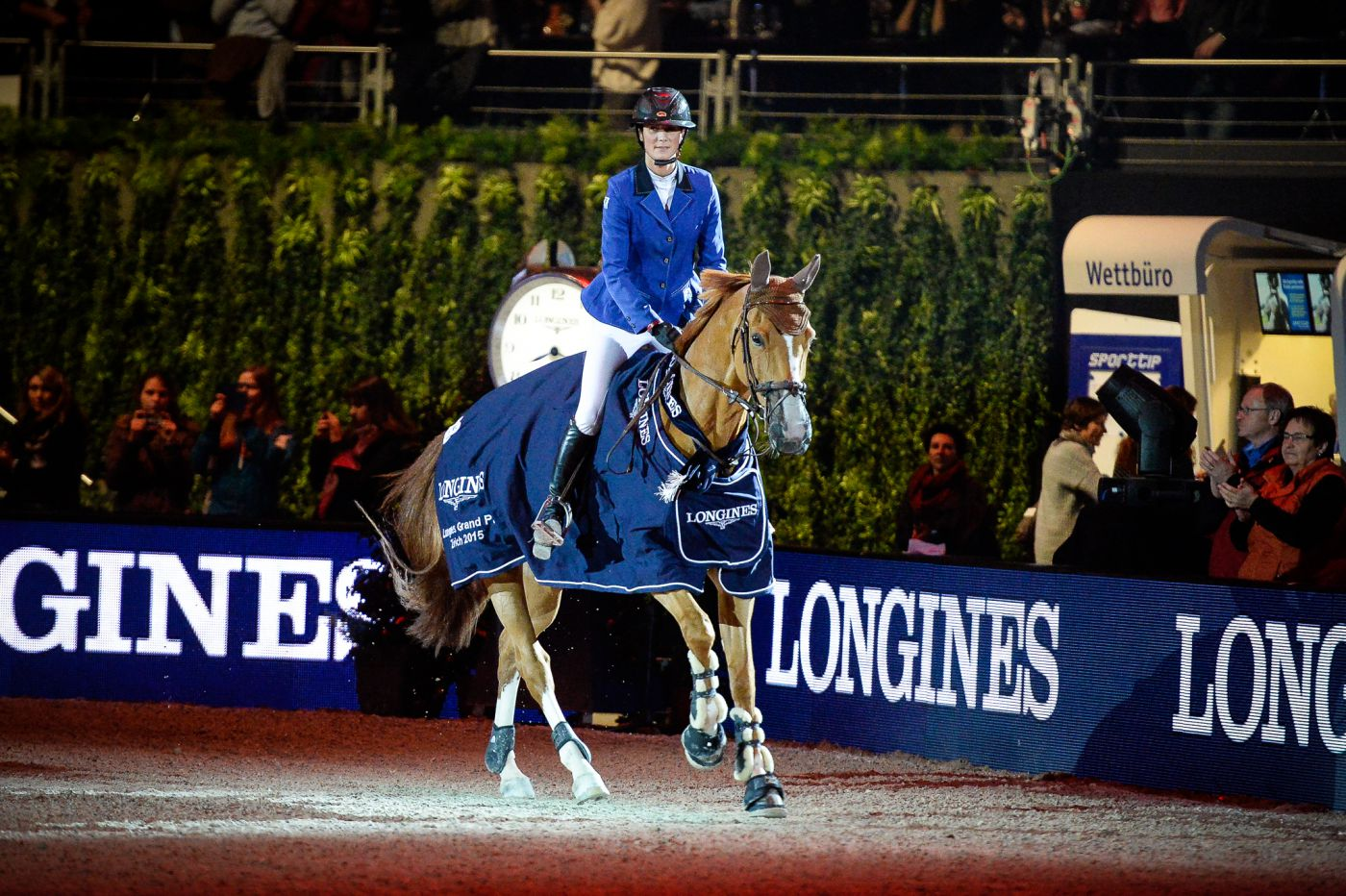 Longines Show Jumping Event: Sergio Alvarez Moya (ESP) wins the Swiss leg of the Longines FEI World Cup™ in Zurich 1