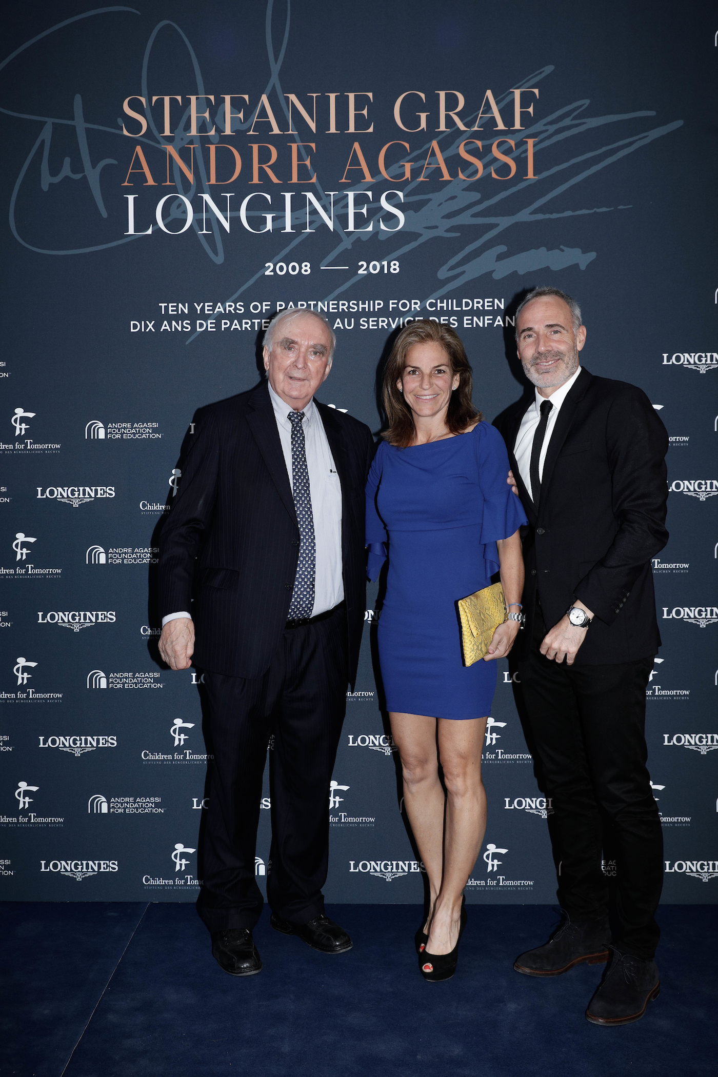 Longines Corporate Event: Longines unveils two exclusive Conquest V.H.P. models to mark ten years of its partnership with  Stefanie Graf and Andre Agassi 14