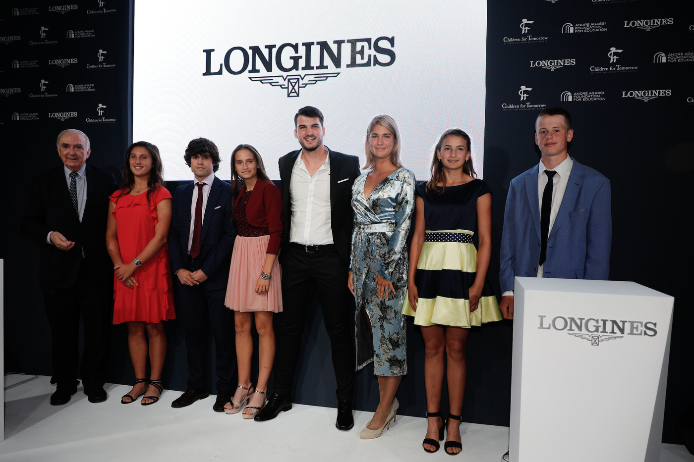 Longines Corporate Event: Longines unveils two exclusive Conquest V.H.P. models to mark ten years of its partnership with  Stefanie Graf and Andre Agassi 5